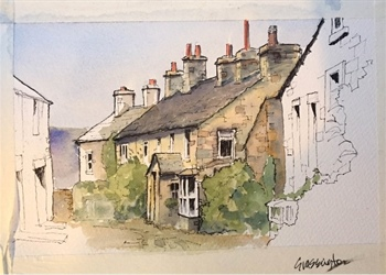 Line and Wash: Its not just 'colouring in'
