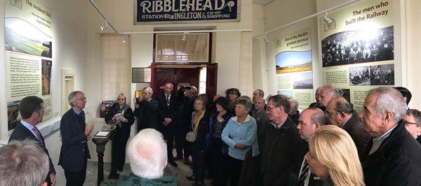 New Ribblehead Visitor Centre and exhibition opens